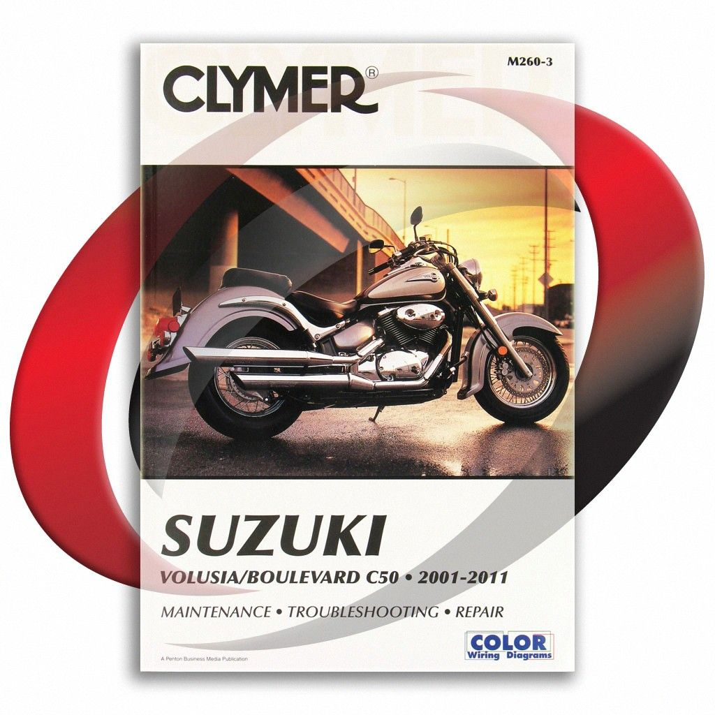 2005 2011 Suzuki Boulevard C50 Clymer Repair Manual M260 3 Sixity Com