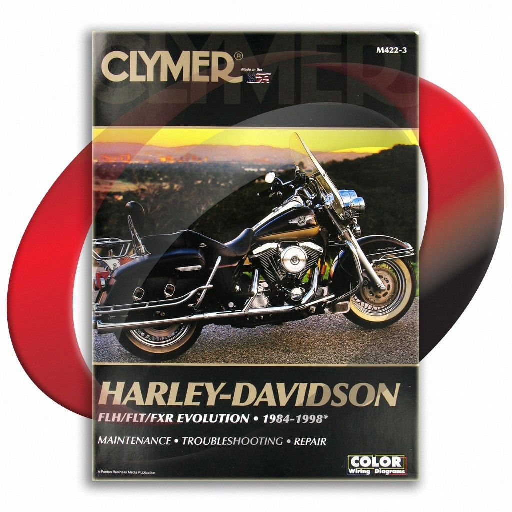 1985 Harley Davidson Fxsb Low Rider Clymer Repair Manual M422 3 Sixity Com