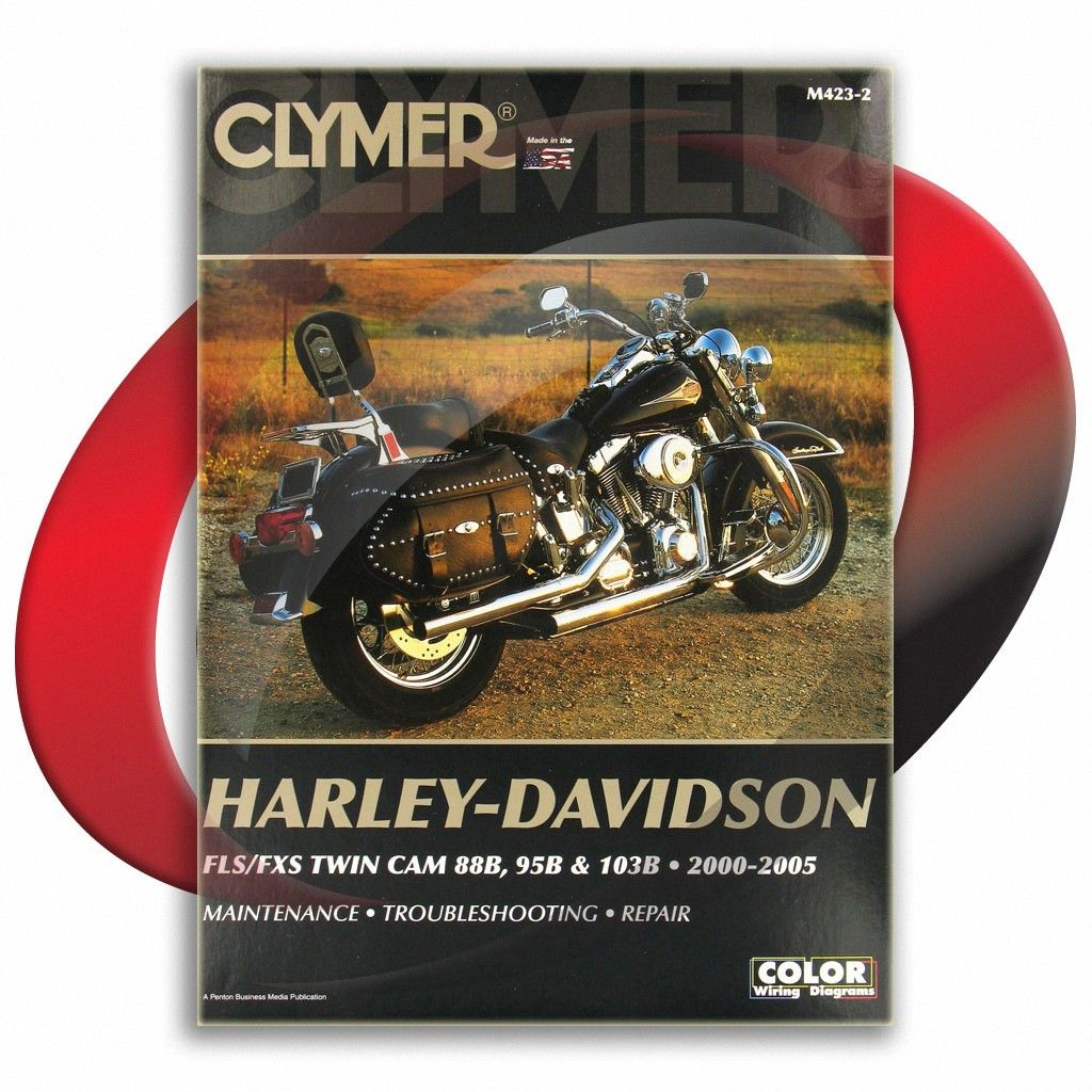 2000 2005 Harley Davidson Flstf Flstfi Fat Boy Clymer Repair Manual M423 2 Sixity Com