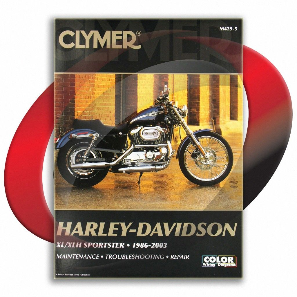 1986 1995 Harley Davidson Sportster Xlh883 D Deluxe Clymer Repair Manual M429 5 Sixity Com