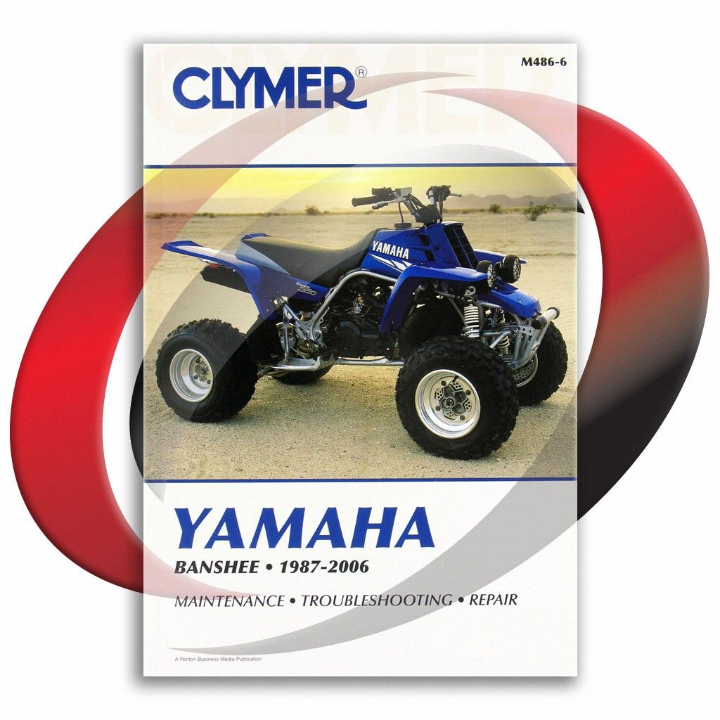 1987 2006 Yamaha Yfz350 Banshee Clymer Repair Manual M486 6 Sixity Com