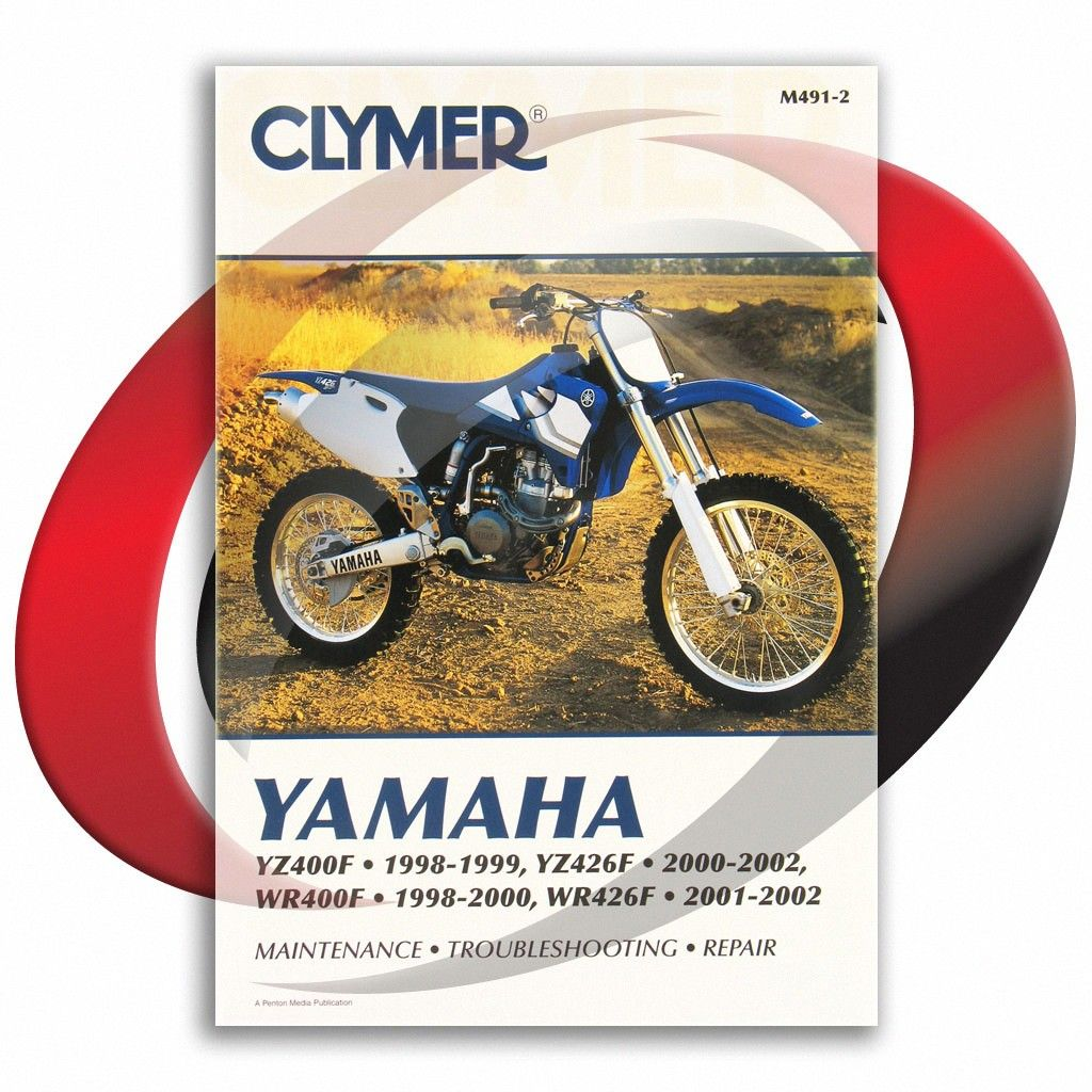2001 2002 Yamaha Wr426f Clymer Repair Manual M491 2 Sixity Com
