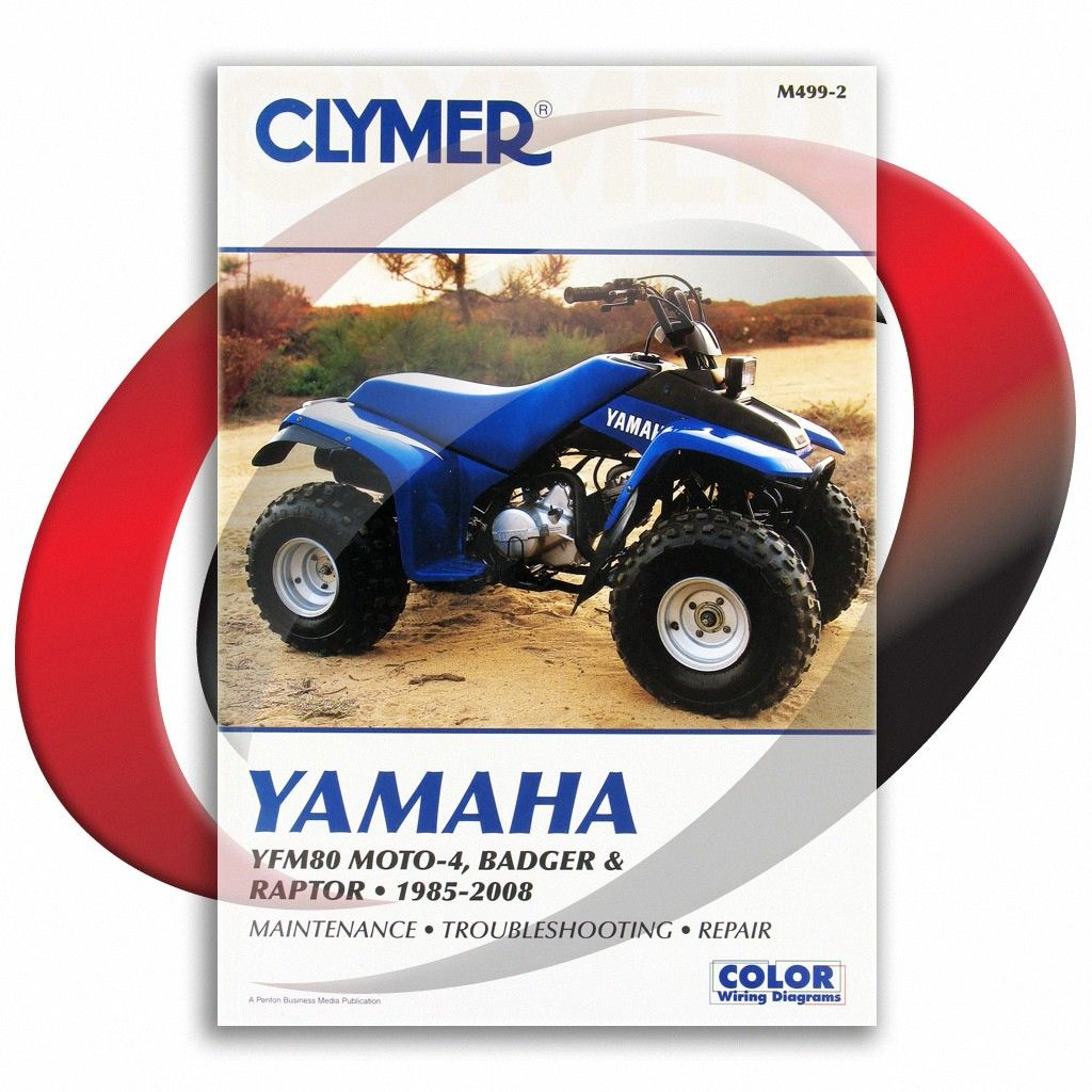 1992 2001 Yamaha Yfm80 Badger Clymer Repair Manual M499 2 Sixity Com