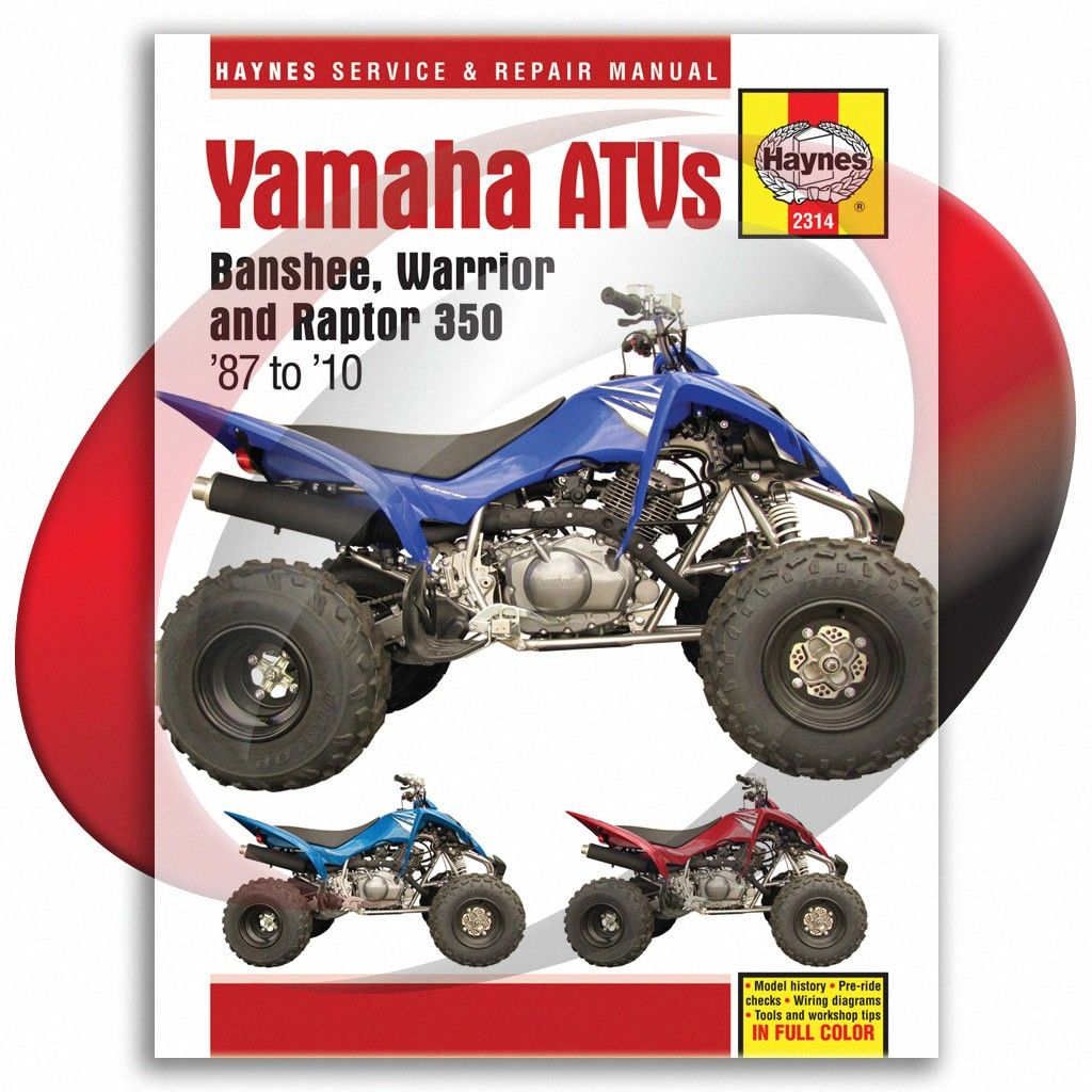 1987 2004 Yamaha Yfm350x Warrior Haynes Repair Manual 2314 Sixity Com