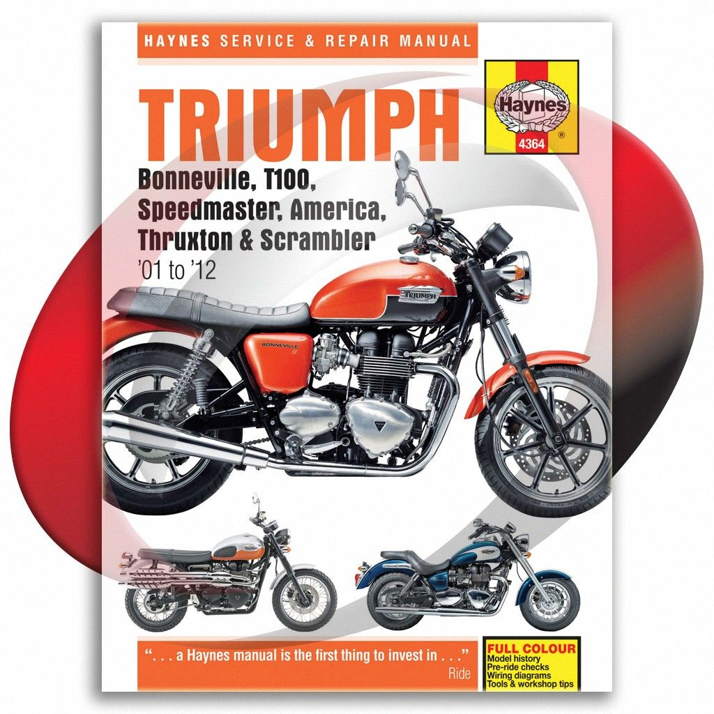 Haynes Manuals Workshop Manual Triumph 790cc 865cc Twins