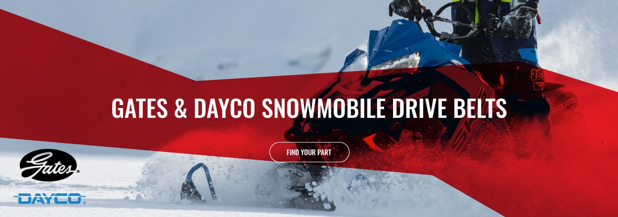 Shop Dayco and Gates Snowmobile Drive Belts
