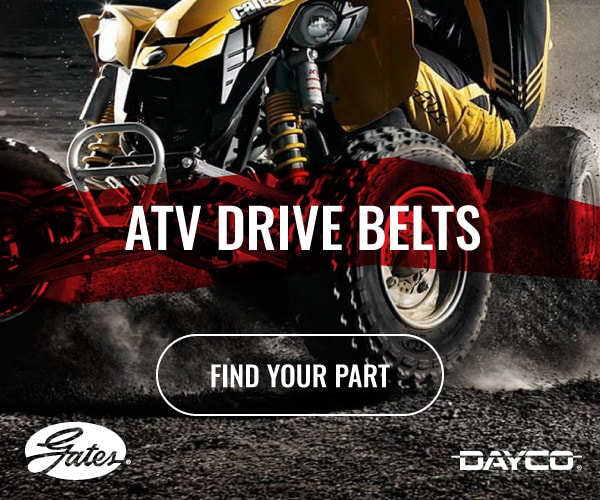 Shop Gates and Dayco ATV Drive Belts