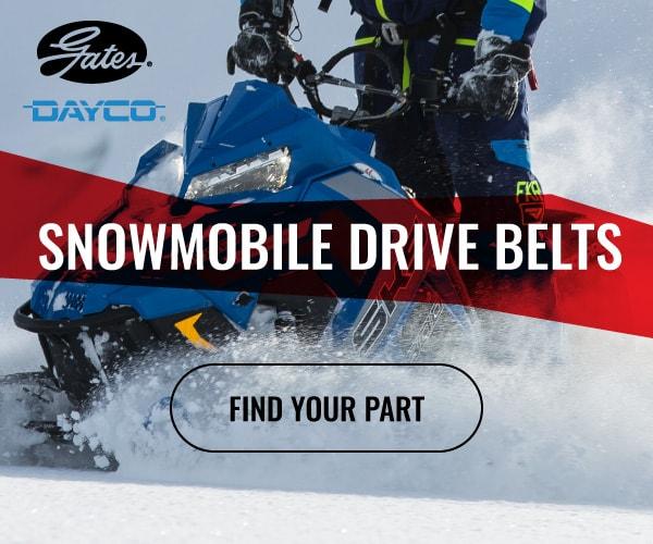 Shop Gates snowmobile drive belts