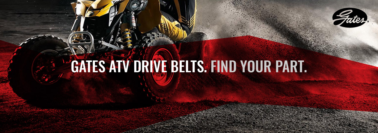 Shop Gates ATV Drive Belts
