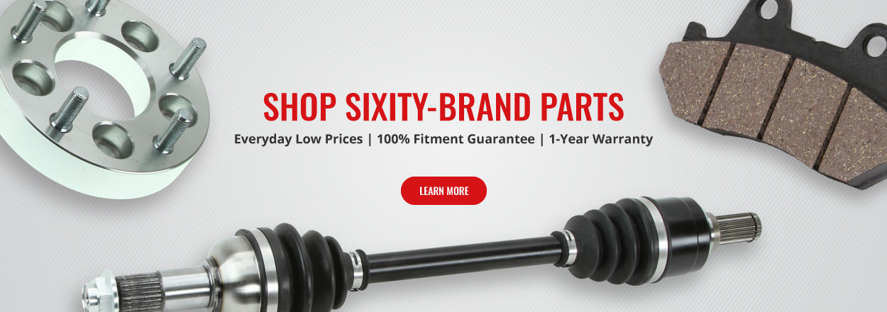 Shop Sixity Axles, Brake Pads, Wheel Spacers